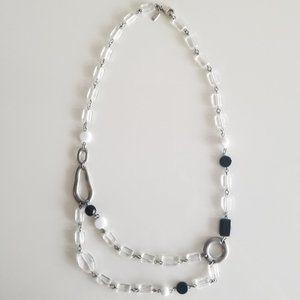 Ben-Amun Resin & Silver Necklace